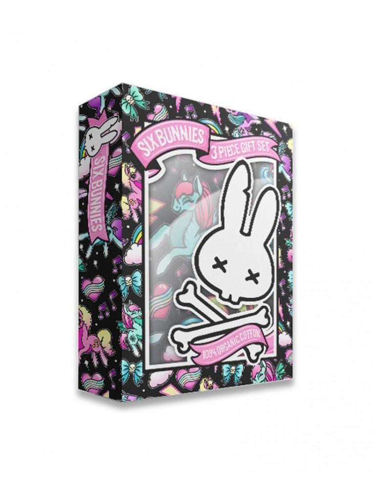 Juego para bebe six bunnies unicornios caja