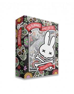 Baby gift set sugar skulls Six Bunnies box