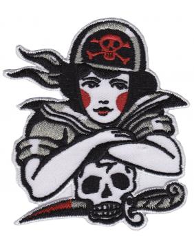 Sourpuss Pirate Girl Patch