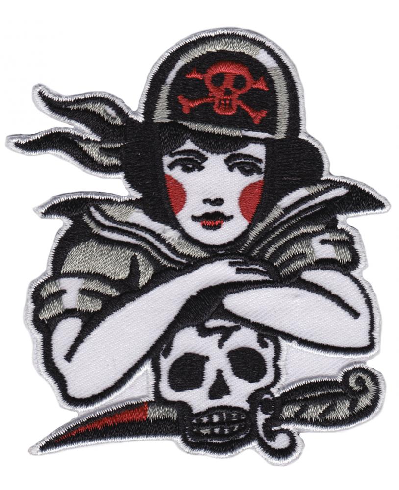 Sourpuss Parche Chica Pirata