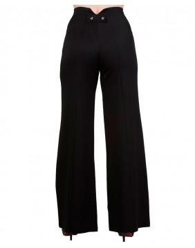 Banned pantalones stay awhile negro trasero