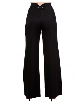 Banned Stay Away Trousers Black back