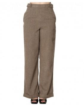 Banned Pantalones anchos lady luck delantero