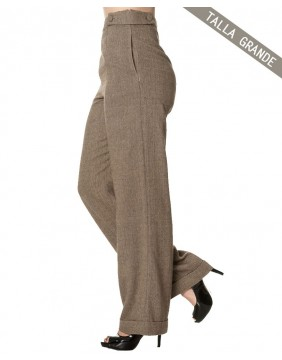 Banned Lady Luck Wide Trousers side