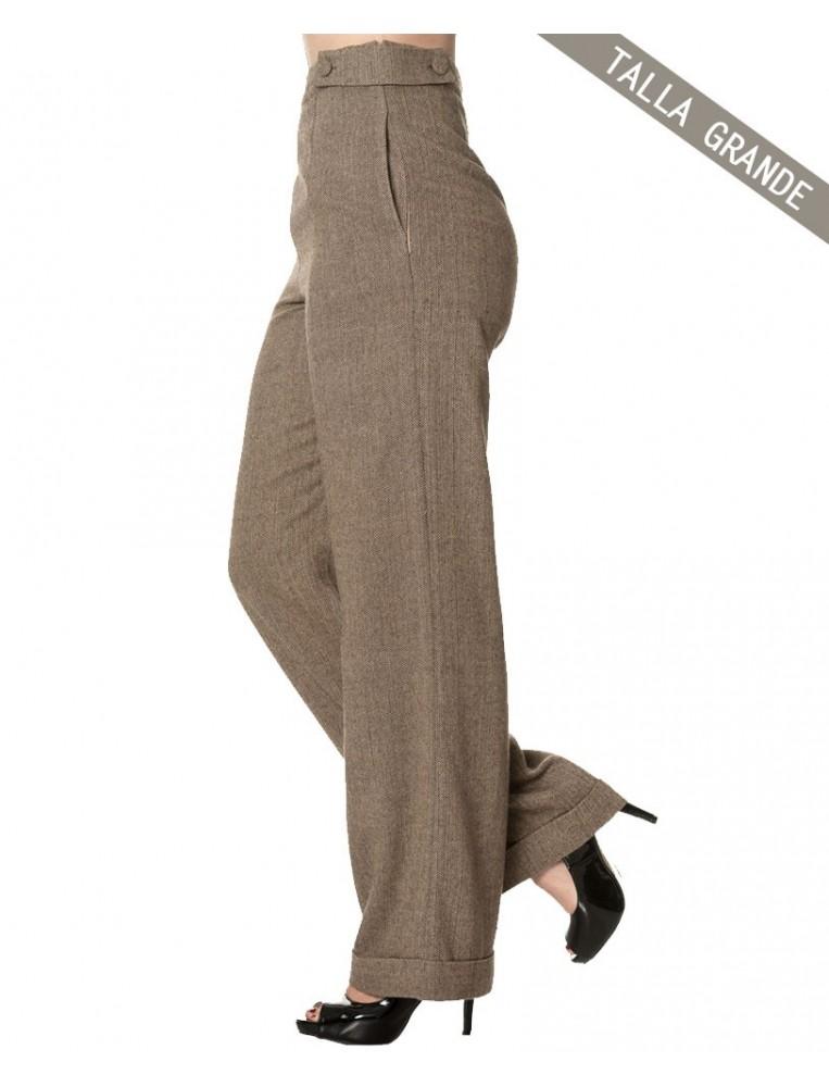 Banned pantalones anchos lady luck lado