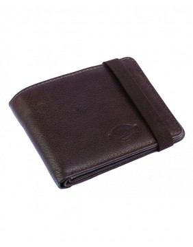 Dickies Wilburn Wallet Brown Closed