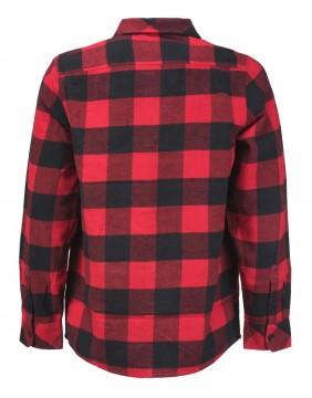 Camisa Sacramento Rojo Trasera
