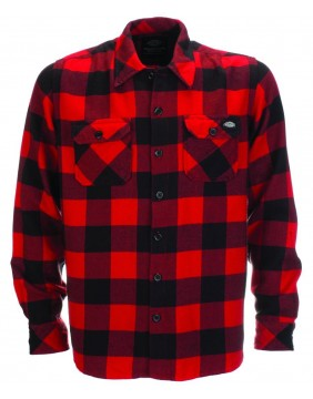 Dickies Sacramento Shirt Red Front
