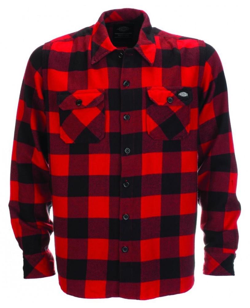 Dickies Sacramento Shirt Red Front