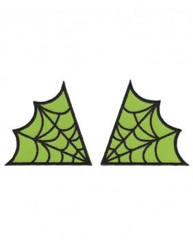 Parches Telarañas Verde