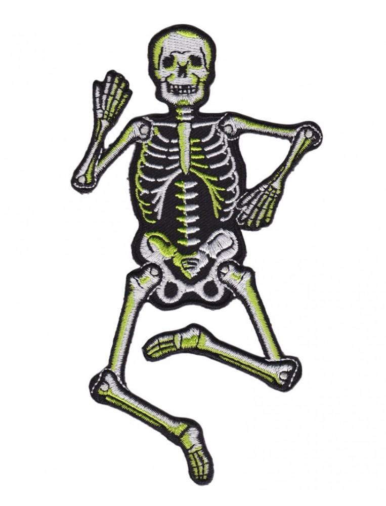 Dancing Skeleton Patch
