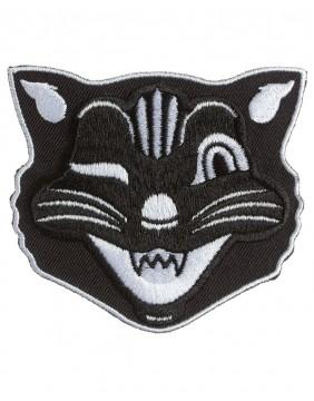 Sourpuss Parche Gato Negro