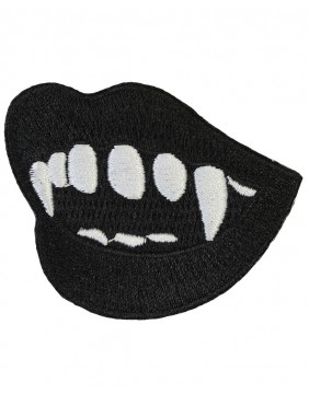 Vampire Fangs Patch