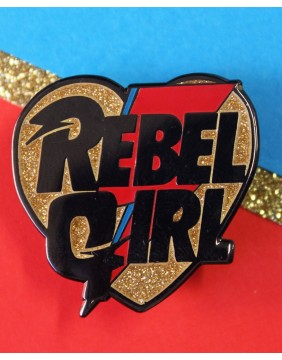 Extreme Largeness Pin Rebel Girl