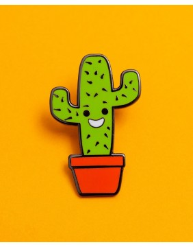 Extreme Largeness Cactus Pin