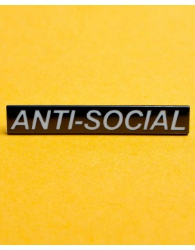 Extreme Largeness Anti-Social Pin