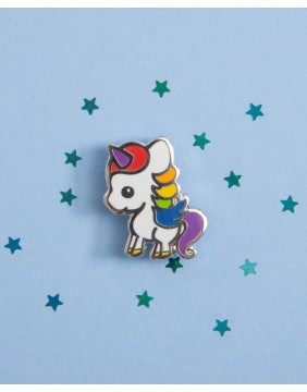 Extreme Largeness Unicorn Pin