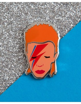 Extreme Largeness Pin Bowie