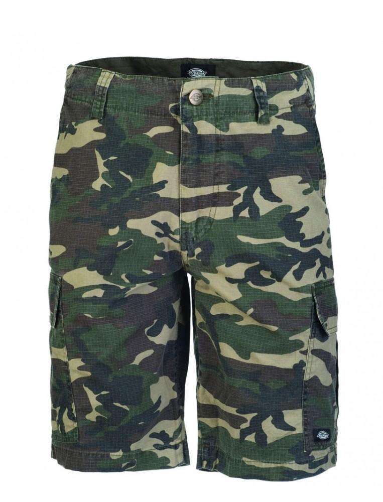 Pantalon corto de camuflaje marca dickies