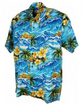 Karmakula Camisa Hawaiana Panama