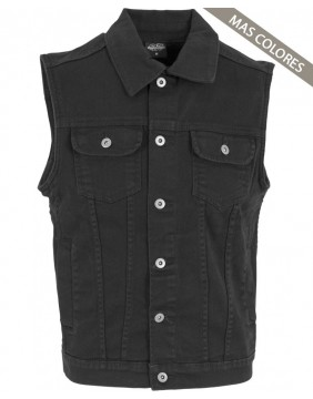 Urban Classics Black Denim Vest