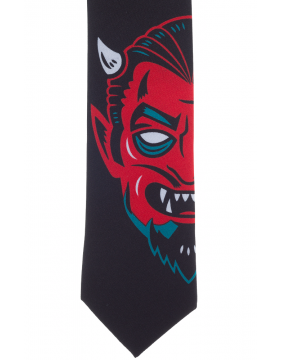 Kustom Kreeps Devil Tie Detail