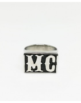 Motorcycle Club Sloped Ring