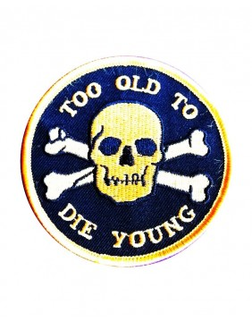 Sourpuss Too Old Patch