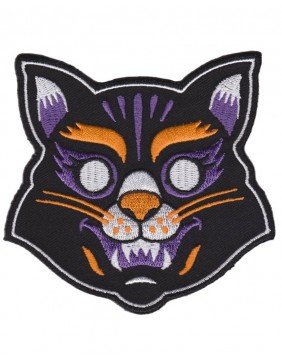 Sourpuss Parche Mascara Gato
