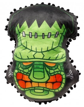Sourpuss Franken Tiki Pillow