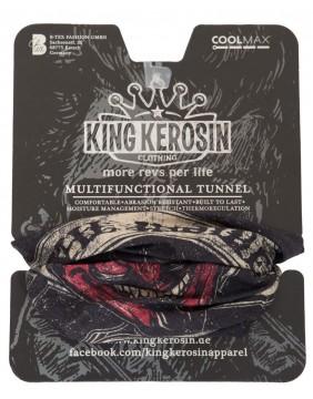 Pañuelo de tubo devil Inside marca king kerosin, presentación