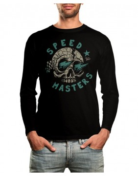 Speedmasters Blue Lights Long Sleeve T-shirt