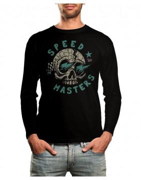 Speedmasters Camiseta Manga Larga Blue Lights