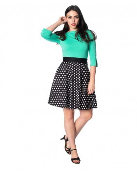 Banned Polka Love Skirt