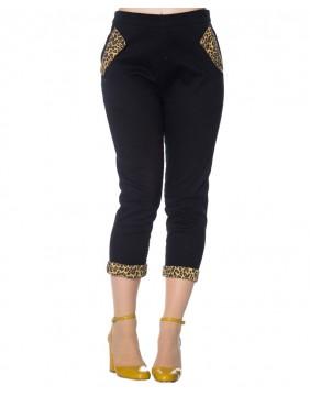 Banned Pantalones Capri Rock N Roll