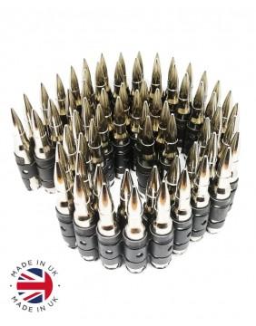 Cinturon balas plata completo principal