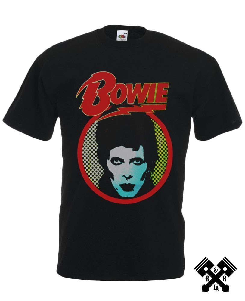 Bowie T-shirt front