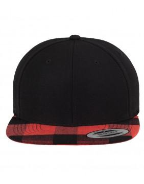 Urban Classics Checked Snapback Cap