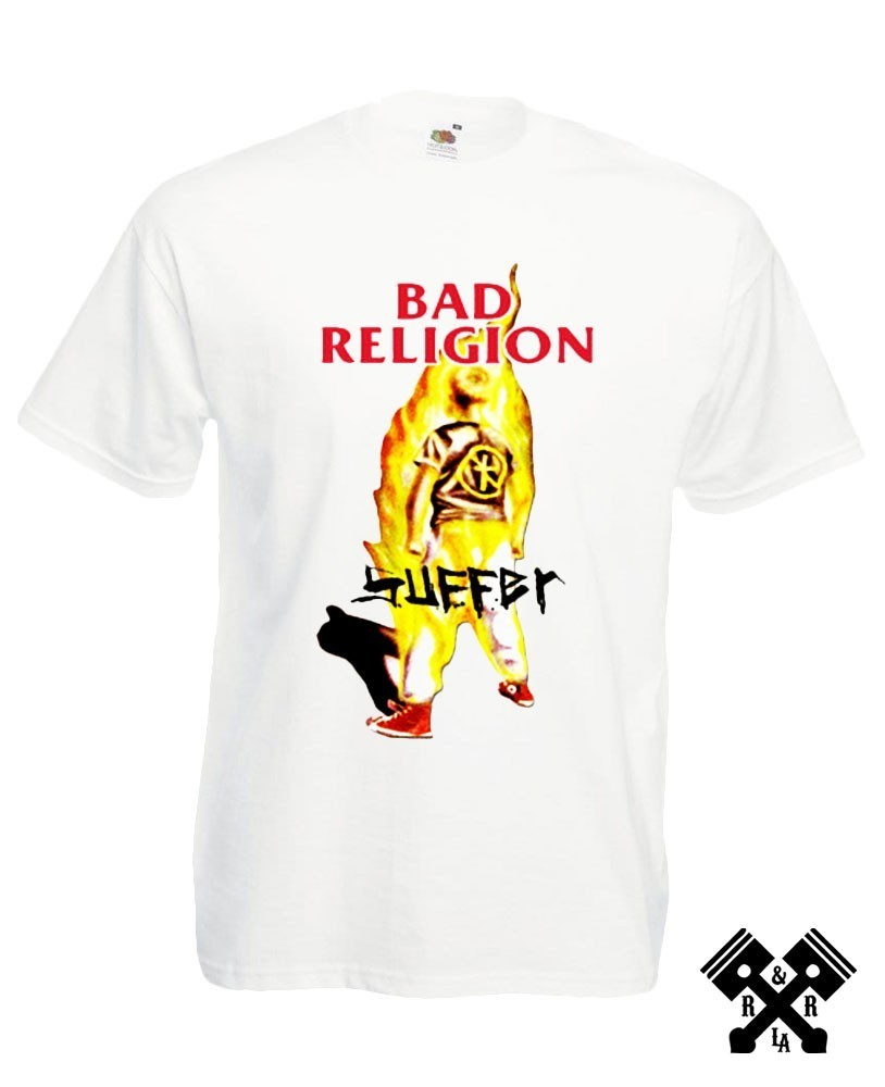 Bad Religion suffer t-shirt white main