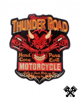 Parche espalda thunder road