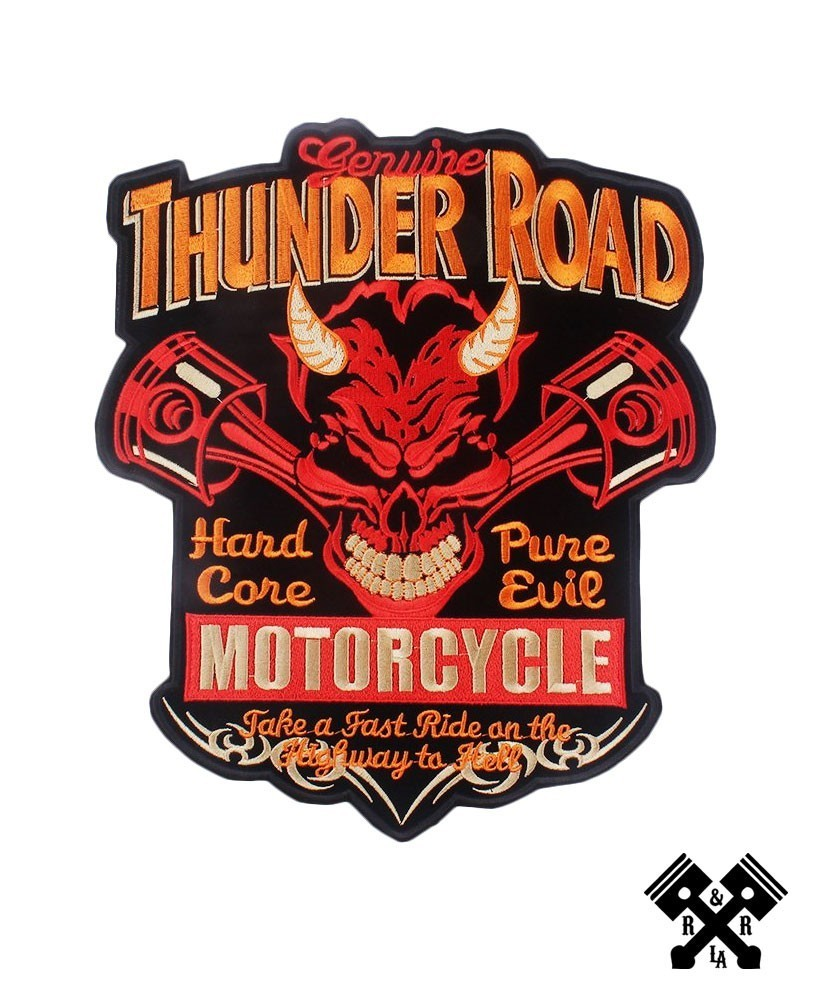 Back patch thunder road