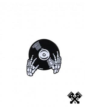 Pin Esqueleto DJ