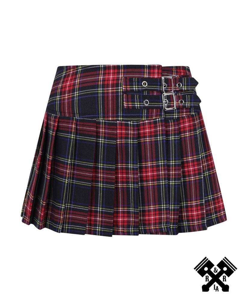 Mini falda roja escocesa de Banned principal
