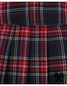 Mini falda roja escocesa de Banned detalle tartan
