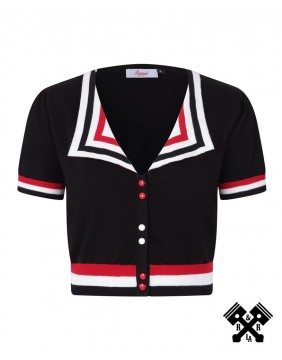 Banned Collar Sailor Top
