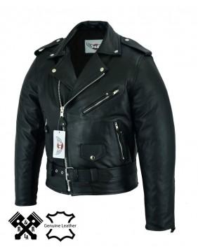 """chaqueta de cuero motera para hombre """"Perfecto"""" perfil"""