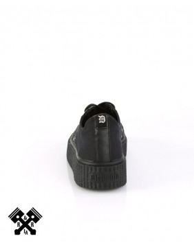 Zapatillas Sneeker marca Demonia Unisex Trasera
