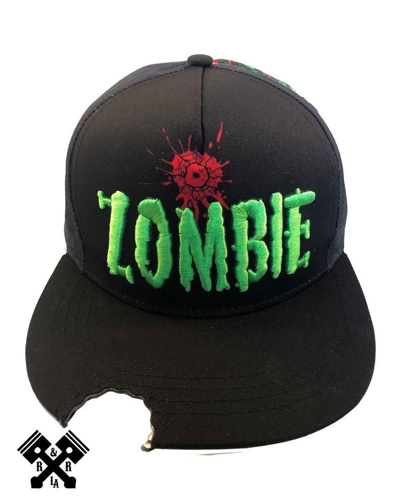 Zombie Bite Baseball Cap Front