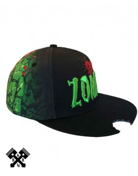 Zombie Bite Baseball Cap Profile