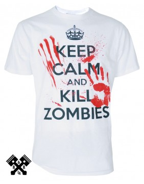 Camiseta Kill Zombies marca Darkside para hombre